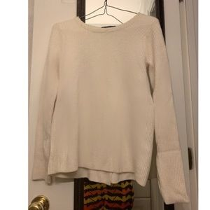 Banana republic split back sweater
